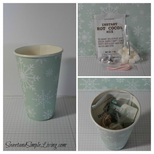 Christmas Paper Craft Ideas: Snowman Soup