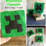 Minecraft Creeper Rice Krispy Treats
