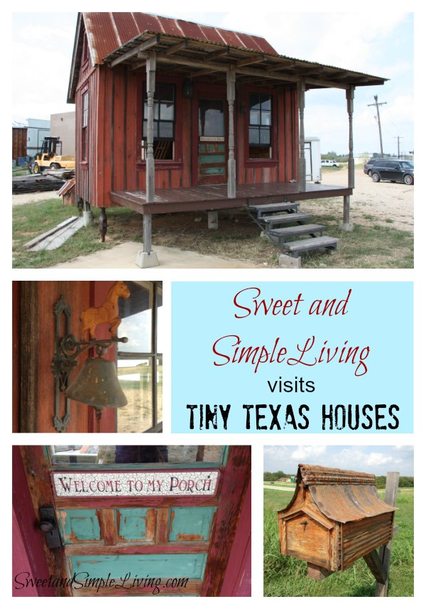 Tiny Texas Houses Sweet and Simple Living