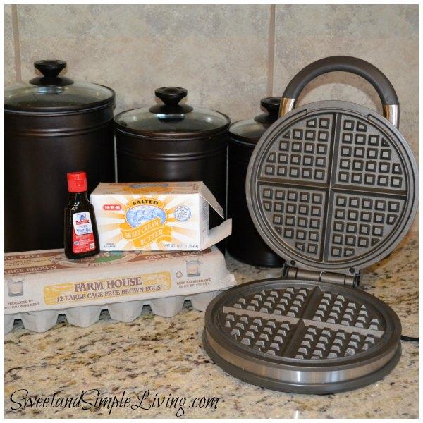 Waffle Cookies Ingredients