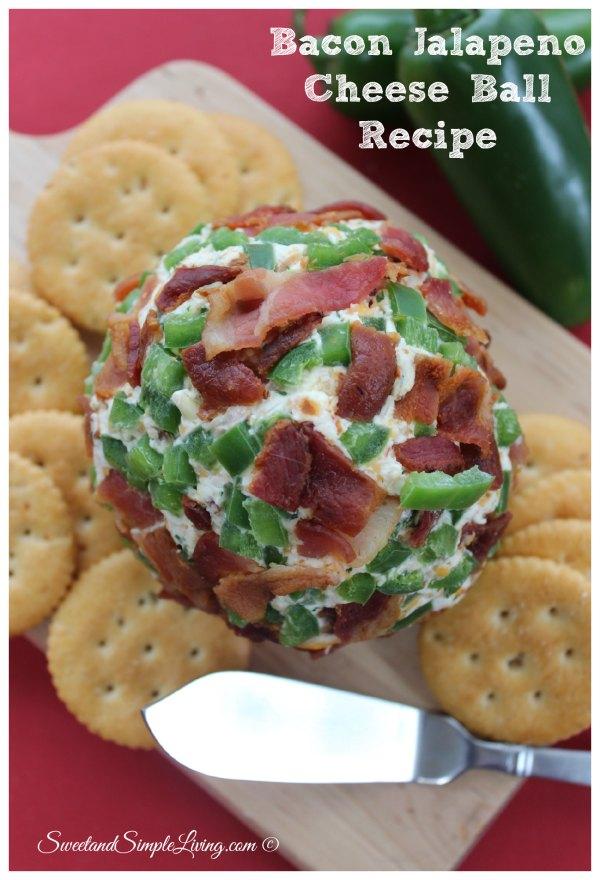 Bacon Jalapeno Cheese Ball Recipe
