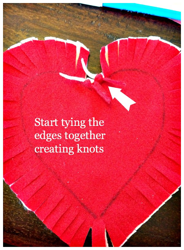 Diy felt heart craft idea no sewing required sweet and for Heart template for sewing