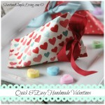 Valentine Crafts: Quick and Easy Treat Holders