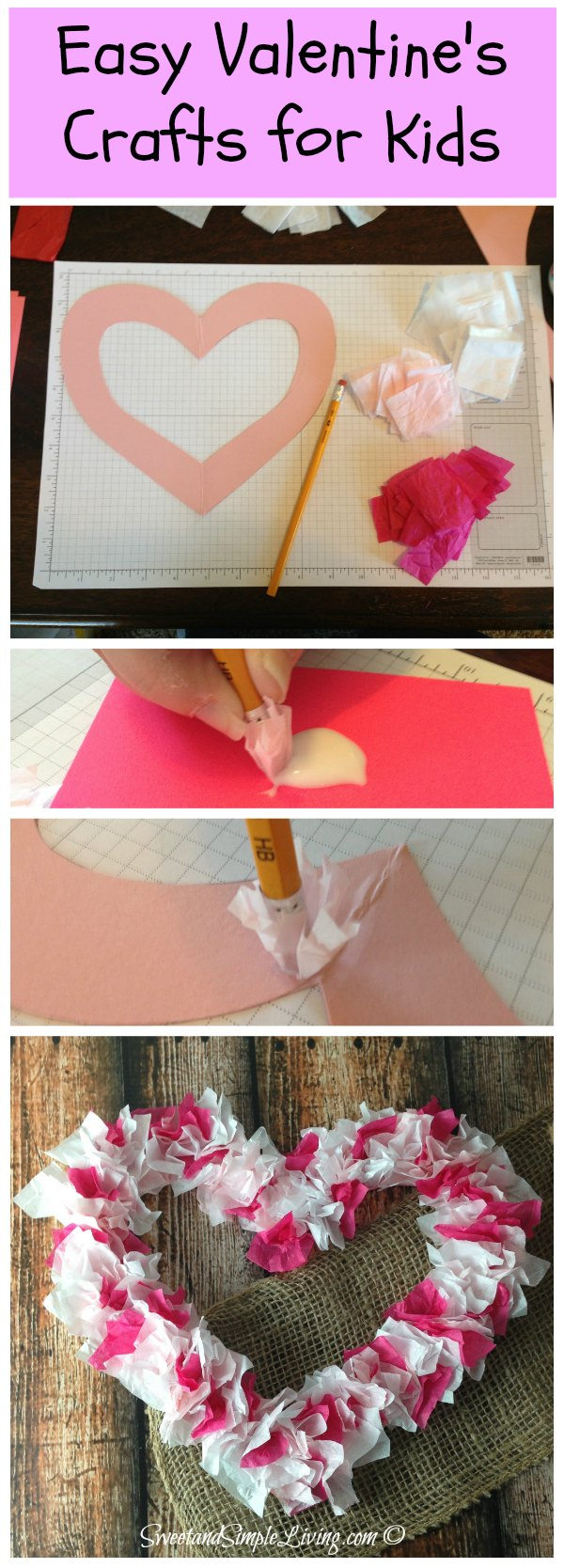 1000 images about diy jeannie 39 s easy crafts and gifts for Valentine crafts for kindergarteners