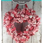Valentine's Day Heart Wreath with FREE Tutorial