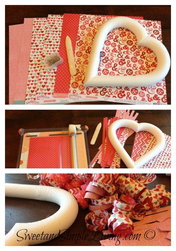 Valentine's Day Heart Wreath 2