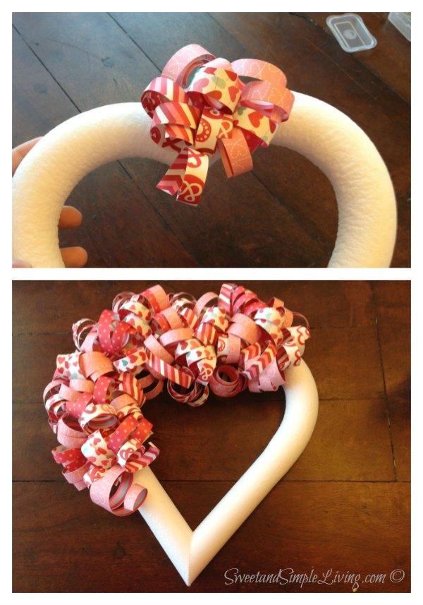 Valentine's Day Heart Wreath 4