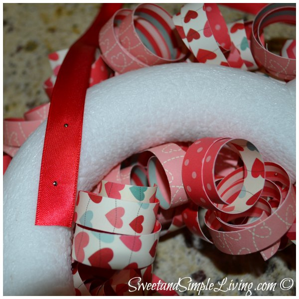 Valentine's Day Heart Wreath 5