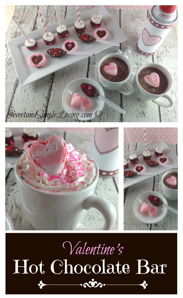 Valentine's Day Ideas Hot Chocolate Bar