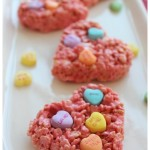 Valentine's Day Rice Crispy Treats