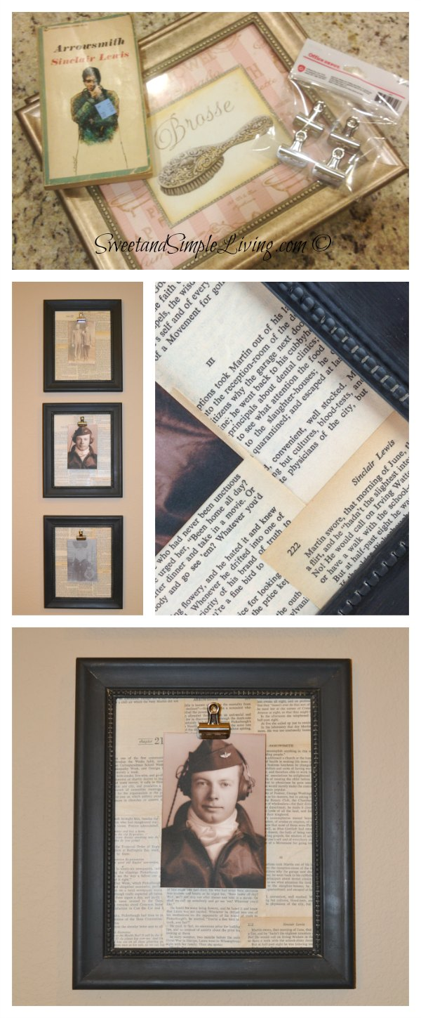 DIY Picture Frames - Sweet and Simple Living