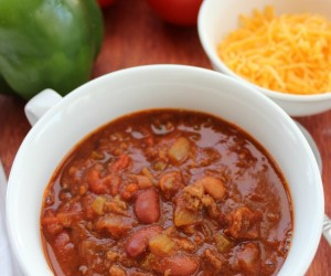 Homemade Chili recipe 1