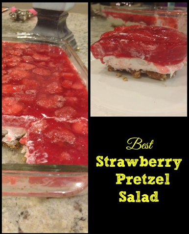 Strawberry Pretzel Dessert Recipe