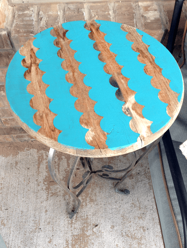 FrogTape Shape Tape Table Project Idea