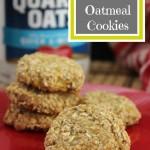 Easy Banana Oatmeal Cookies