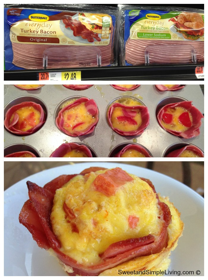 Yummy Bacon Egg Muffin
