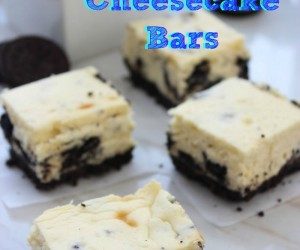 Oreo Cheesecake Bars:  7 Ingredients for a Quick Dessert Idea