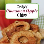 Crispy Cinnamon Apple Chips