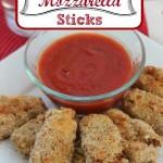 Oven Fried Mozzarella Sticks