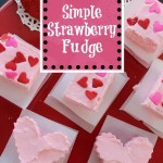 Simple Strawberry Fudge