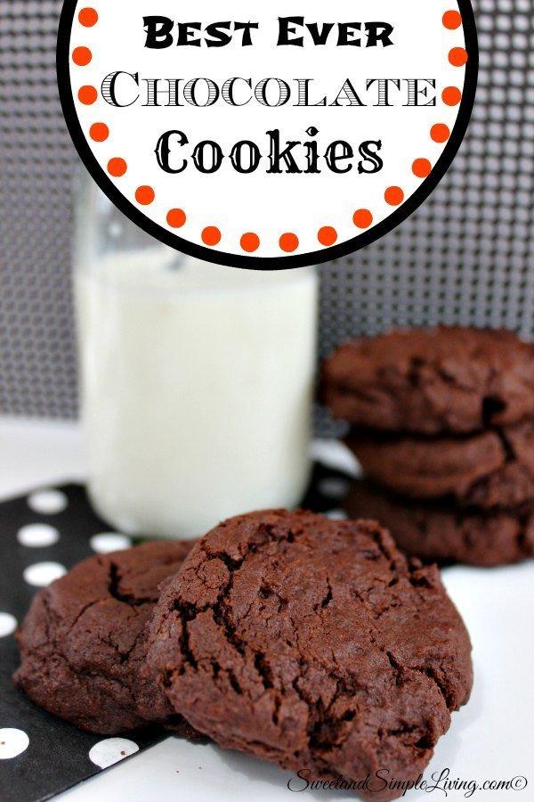 Best Ever Chocolate Cookies 1