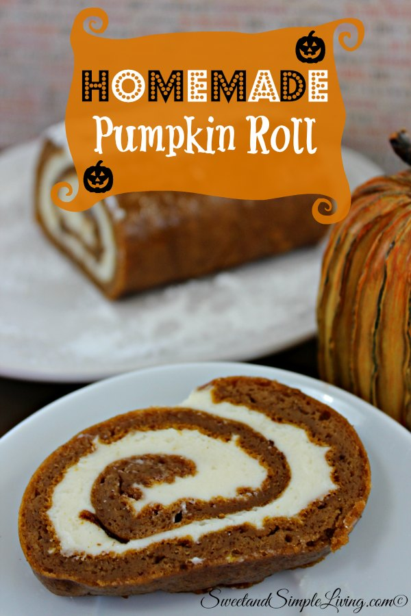 Homemade Pumkin Roll