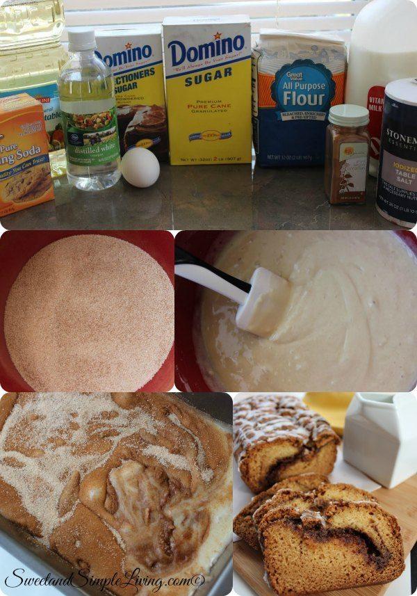 Quick Cinnamon Swirl Bread