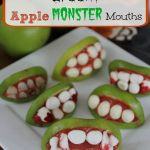 Spooky Apple Monster Mouths