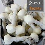 Spooky Pretzel Bones