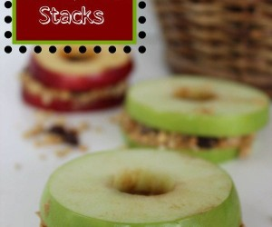 Apple Sandwich Stacks Recipe