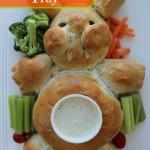 Bunny Bread Veggie Tray