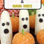 Easy Clementine Pumpkins and Banana Ghosts