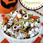 Easy Halloween Popcorn