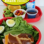 Ham and Cheese Beach Bento
