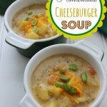 Homemade Cheeseburger Soup