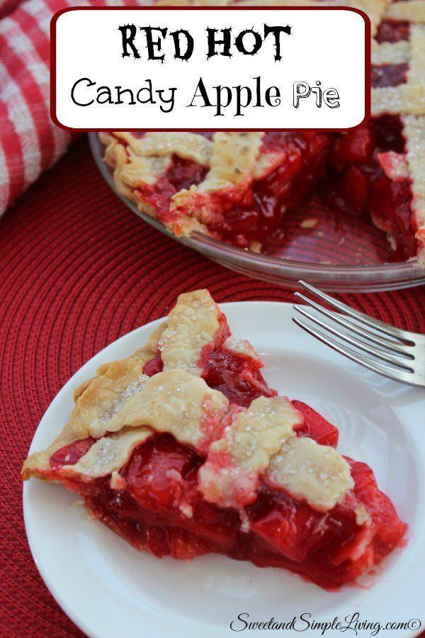 red apple pie recipes