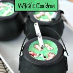 Spooky Jell-O Witch's Cauldron