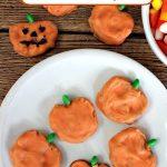 DIY Pretzel Pumpkins