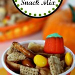 Quick and Easy Scarecrow Snack Mix