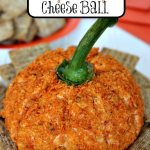 Spicy Pumpkin Shaped Cheese Ball