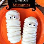 Spooky Twinkie Mummies