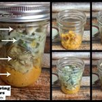 Thanksgiving Day Leftovers in a Mason Jar