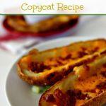 Baked Potato Skins Copycat Recipe