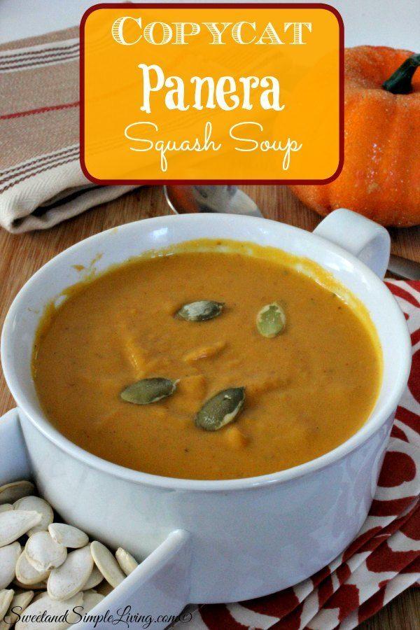 copycat panera squash soup