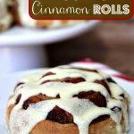 Homemade Eggnog Cinnamon Rolls