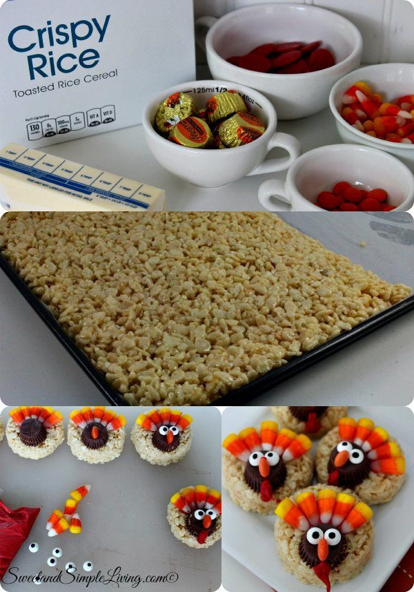 rice krispie turkey treats