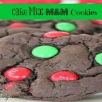 Cake Mix M&M Cookies