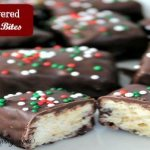 Chocolate Covered Krispie Bites