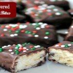Chocolate Covered Krispie Bites
