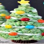 Christmas Tree Rice Krispies